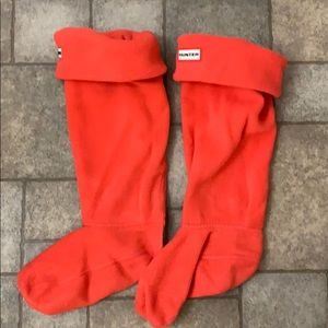 Hunter Boot Fleece Socks